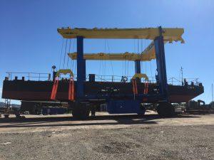300 Tonne Hoist In Action